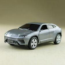 2014 Metallic Grey Lamborghini Urus SUV 1:38 13cm Die-Cast Doors Open Pull Back