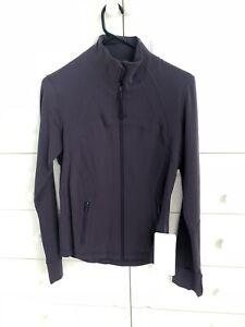 *NEW W/ TAGS* Lululemon Define Running Yoga Jacket Purple Grape Size AU 12 US 8