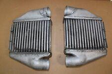 2 originale Alu Ladeluftkühler LLK Audi S4 RS4 B5 2.7 V6 Biturbo Air Cooler