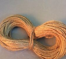 2Ply Natural Rustic Vintage Hessian Jute String/Ribbon Craft Labels 55m ONLY £2