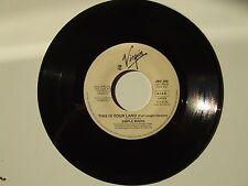 """Neneh Cherry / Simple Minds – Disco Vinile 45 Giri 7"""" Edizione Promo Juke Box"""