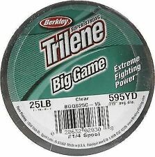 Berkley Trilene Big Game Fishing Line 4oz Spools Clear 25lb