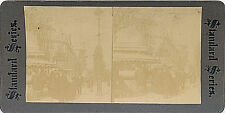 1900 Exposition, Paris, France Stereoview