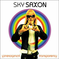 SKY SAXON (THE SEEDS) 'Transparency' CD+DVD new sealed Spacemen 3 Barracudas etc