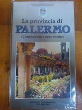 LIBRO - PROVINCIA DI PALERMO GUIDA TURISTICA E CARTA STRADALE DEAGOSTINI 1995