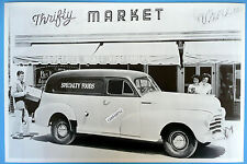 """12 By 18"""" Black & White Picture 1948 Chevrolet Sedan Delivery"""