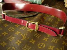 549f4e26e57 Auth RARE Vintage GUCCI Suede Leather Oxblood BELT Statement Accessory  Buckle S
