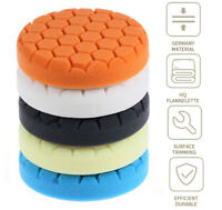 "5Pcs 6"" Car Body Polishing Pad Cleaning Waxing Pad For Car Polisher Universal"