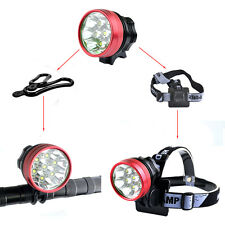 Cree 7x XM-L T6 LED 15400LM Front Cycling Bicycle Bike Light Headlamp Torch Lamp