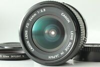 **N Mint** Canon New FD NFD 24mm f/2.8 Wide Angle MF Prime Lens From JAPAN