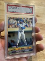 Ken Griffey Jr. PSA 5 Card Fleer Ultra 1992 EX #123 Seattle Mariners Junior NR