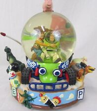 Toy Story Disney Pixar Snow Globe You've Got A Friend In Me Buzz Woody Rex Hamm