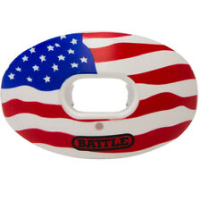 Battle Sports Science Limited Edition Oxygen Lip Protector Mouthguard - USA Flag