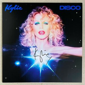 KYLIE MINOGUE * DISCO * LIMITED SIGNED BLUE VINYL * BN&M * SAY SOMETHING * MAGIC