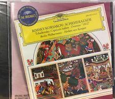 "FAST FREE SHIP, NEW: Rimsky-Korsakov: Scheherazade Tchaikovsky ""1812 Overture"""