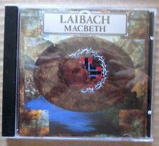 Laibach - Macbeth - 1990 UK CD - Mute Records - CDSTUMM 70 - Early Pressing RARE