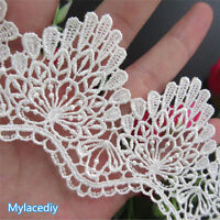 "APPLIQUE EMBROIDERED SOUTACHE Beads Pearls 2.5x8.5/"" Collar Headband 1pc"