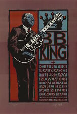 MINT & SIGNED B. B. King 2002 Portland Gary Houston Poster 175/225