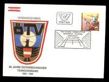 Austria 1982 Lawn Tennis FDC #C3306