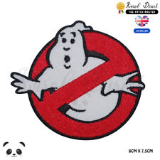 Ghost buster Embroidered Iron Sew On Patch Fancy Dress Costume T Shirt Bag Badge