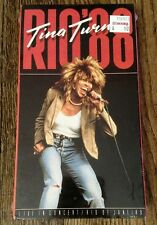 NEW SEALED Tina Turner Rio '88  VHS Video Tape (1988, VHS)