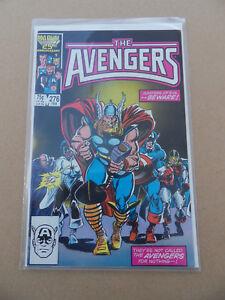Avengers  276  . Masters Of Evil / Thor Return .  Marvel 1987 . VF