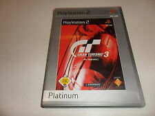 PlayStation 2 PS 2 gran turismo 3: a-Spec [Platinum]