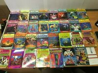 Goosebumps Books Lot of 25 Vintage 1990's R.L Stine Paperbacks  & Caps Book & Dr