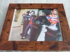 Framed mounted original 10by8 figure fantasy daniel picard joker batman busts
