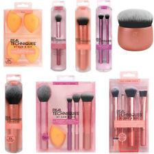New Real Techniques Makeup Brushes Set Foundation Powder Blender Sponge Puff Hot