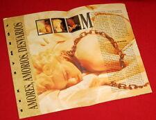 MADONNA  Fascículo de la revista EL GRAN MUSICAL Suplemento del número 322