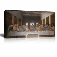 "Last Supper by Leonardo Da Vinci Giclee Canvas Prints - 18""x36"""