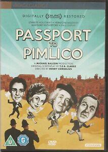 Passport To Pimlico - Stanley Holloway John Slater (DVD, 2012) Restored Edition