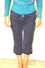 pantalones cortos algodón lino china azul Z-BRAND talla W28 (38) TODO NUEVO