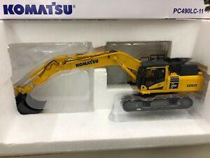 8120 KOMATSU PC490LC-11 1:50 Alloy Excavator Engineering Truck Vehicles Model