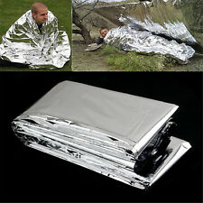 POP New Outdoor Emergency Solar Blanket Survival Insulating Mylar Thermal Heat