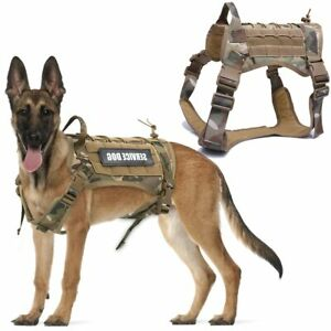 Tactical Dog Harness Pet Training Vest Dog Harness And Leash Set For Dogs