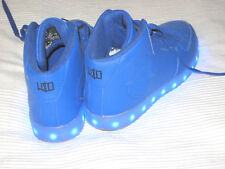 Wize & Ope Cheville Chaussures DEL HI Haute Sneaker Bleu Taille 39 comme neuf