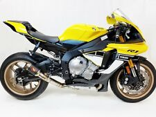 Competition Werkes GP Race Slip On Exhaust Yamaha R1 2015 - 2017