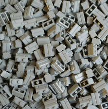 (003) LEGO® 500 Stück Basic Stein 1 x 2 Mauerstein Neu Hellgrau #98283 NEU
