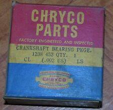 NOS Mopar 1238452 Crankshaft Main Bearing .002 US Chrysler 37-54 Dodge Desoto PL
