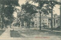 GREENVILLE PA – Louisa Avenue - 1908
