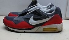 Nike Air Max 2012 Men Red Gray Synthetic Athletic Lace Sneaker Running Shoe 10 M