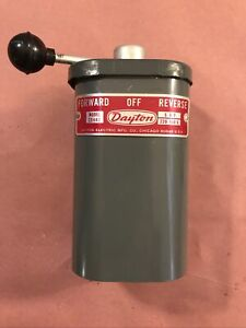 Dayton 5 HP On Off Forward Reverse Switch Lathe Shaper Atlas South Bend Vintage