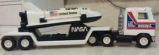 VINTAGE Buddy L NASA MACK TRUCK & Trailer with Space Shuttle ENTERPRISE