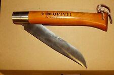 Ancien Opinel N°13 Géant couteau de poche kitchen decoration la Main Couronnée
