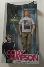 "RARE 2011 BACK STAGE PASS SERIES 12"" CODY SIMPSON DOLL NEW SEALED"