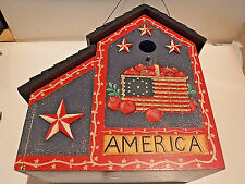 New listing Americana Collections By Deb Strain - American Bird House In Box