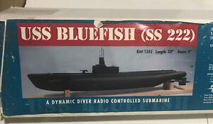 Dumas USS Bluefish (SS 222) Sub Kit 1245 Incomplete