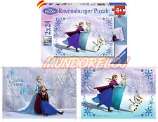 Puzzle Frozen Elsa Anna 2 x 24 piezas ( 09115 7)  España 24H